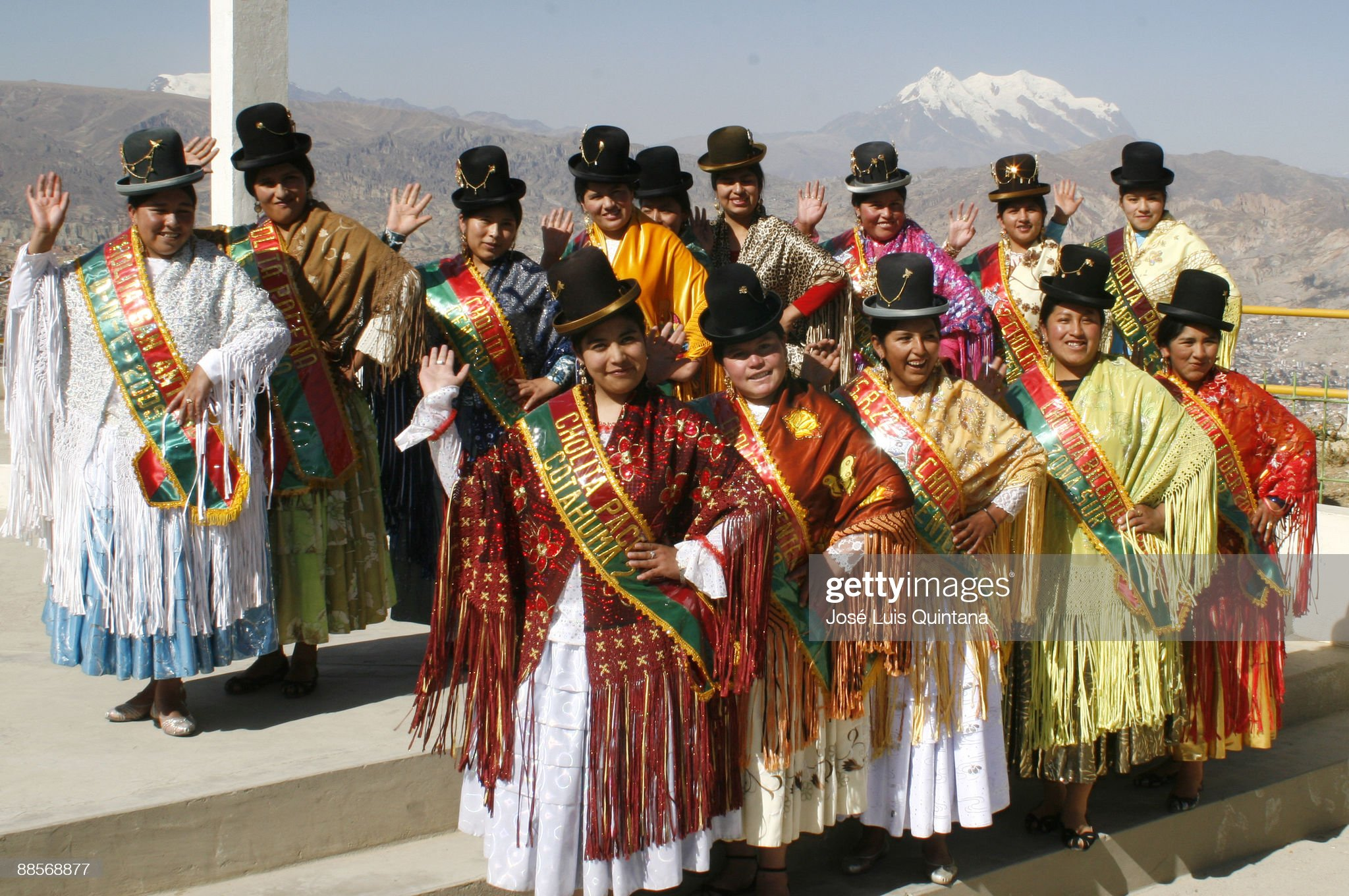 Miss Cholita Of Bicentenary 2009 : ニュース写真