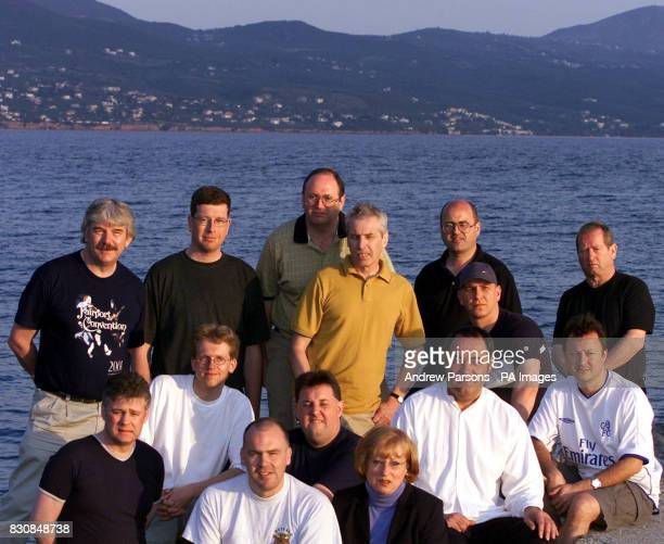 The 14 Plane spotters on the beach in Kalamata Their trial begins Wednesday 24th April 2002 * Michael Busrell of Swanland Nr Hull Frank Mink from...