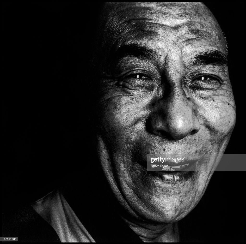 The 14th Dalai Lama, Tenzin Gyatso, early 1990s.