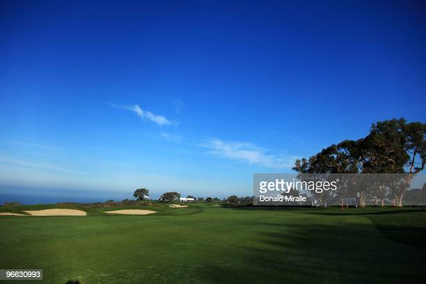 The 14th hole as seen during the third round of the 2010 Farmers Insurance Open on January 30, 2010 at Torrey Pines Golf Course in La Jolla,...