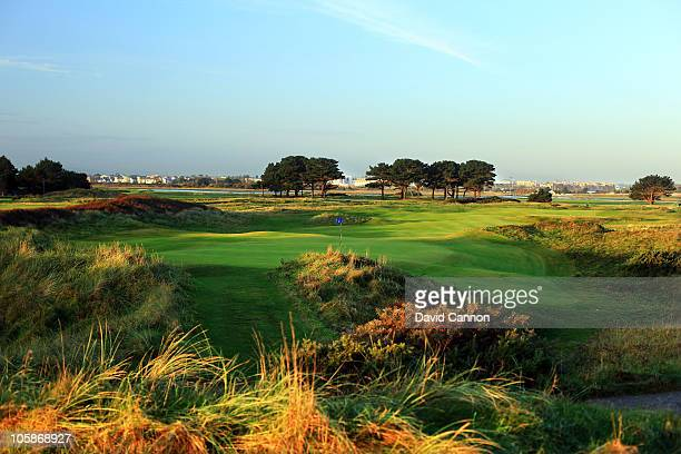 The 14th hole at Portmarnock Golf Club on October 19 2010 in Portmarnock Co Dublin Republic of Ireland
