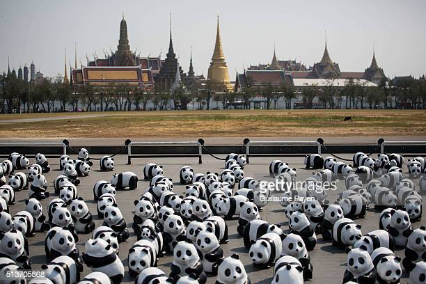 The '1600 Pandas + TH Flash Mobs' exhibition makes it first appearance at Sanam Luang Royal Ground. Imagined and made by the French artist Paulo...
