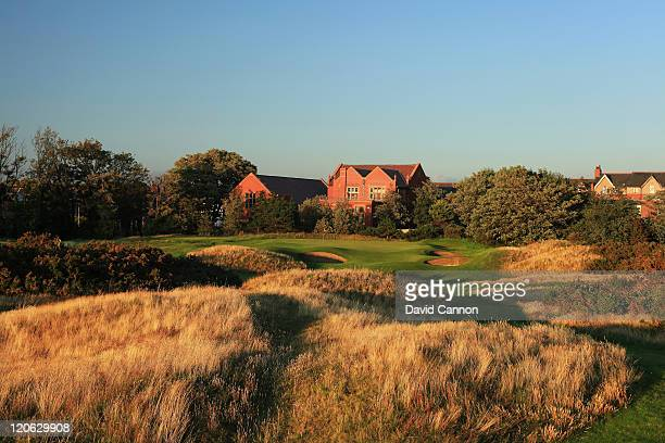 The 164 yards par 3, 9th hole at Royal Lytham and St Annes Golf Club the venue for the 2012 Open Championship on July 25, 2011 in Lytham St Annes,...