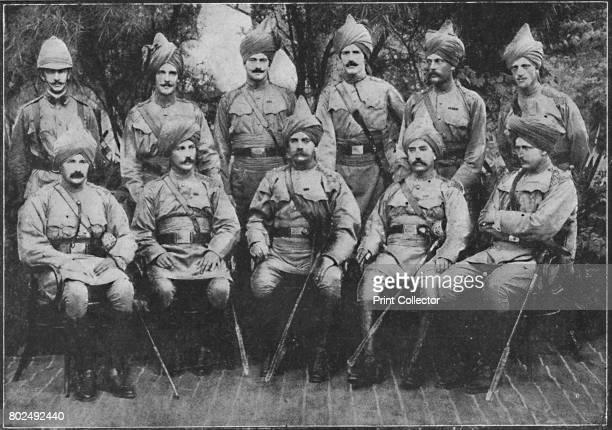 The 16th Bengal Lancers British officers Capt Thornton Lt Doveton Col Alexander Major Waldron Capt Griffiths' 1900 From Black White Budget Vol III...