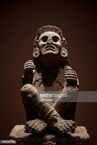 The 16th century statue of the Aztec god Xochipilli at the Museo Nacional de Antropologia in Mexico City, Mexico, September 20, 2015.