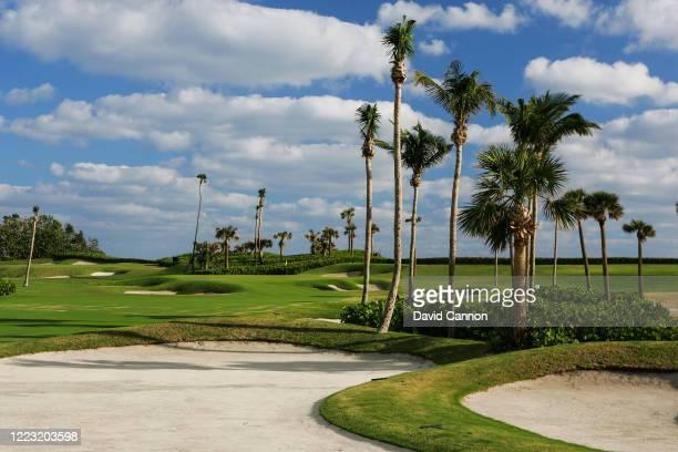The 16th hole at Seminole Golf Club on November 29, 2004 in Juno Beach, Florida.