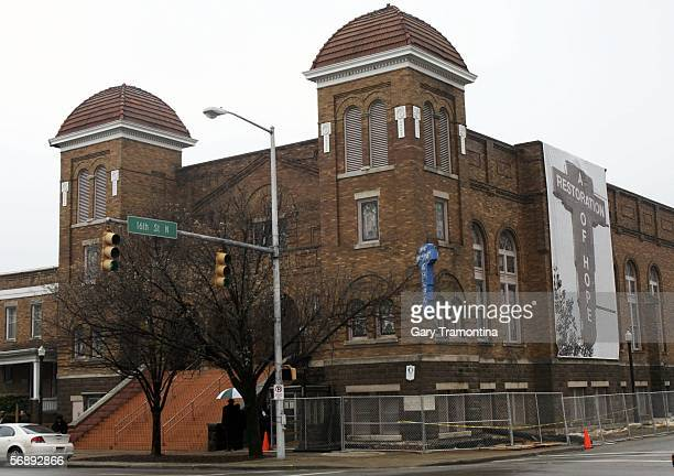 The 16th Street Baptist Church designated a national landmark is seen February 20 2006 in Birmingham Alabama Gonzales was in Birmingham to take part...