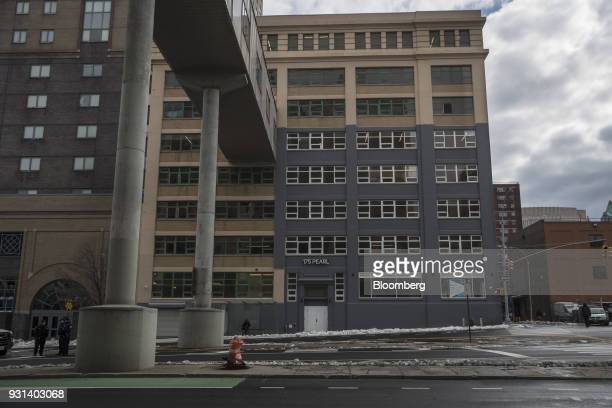 The 175 Pearl building stands in the Dumbo neighborhood of the Brooklyn borough of New York US on Thursday March 8 2018 Two months...