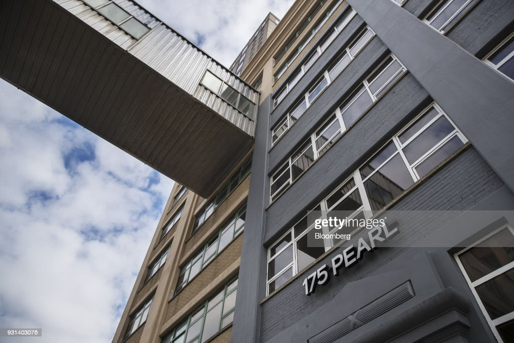 The 175 Pearl building stands in the Dumbo neighborhood of the Brooklyn borough of New York, U.S., on Thursday, March 8, 2018. Two months afterJaredKushnerjoined the White House as a senior adviser, his family firm sold a stake in a Brooklyn building to a unit of a company whose largest shareholder is the government of Japan. The buyer of record in the $103-million deal for 175 Pearl St. was Normandy Real Estate Partners, a New Jersey-based investment firm. But documents filed in Tokyo show that it was operating on behalf of a subsidiary ofNippon Telegraph & Telephone Corp. Photographer: Victor J. Blue/Bloomberg via Getty Images