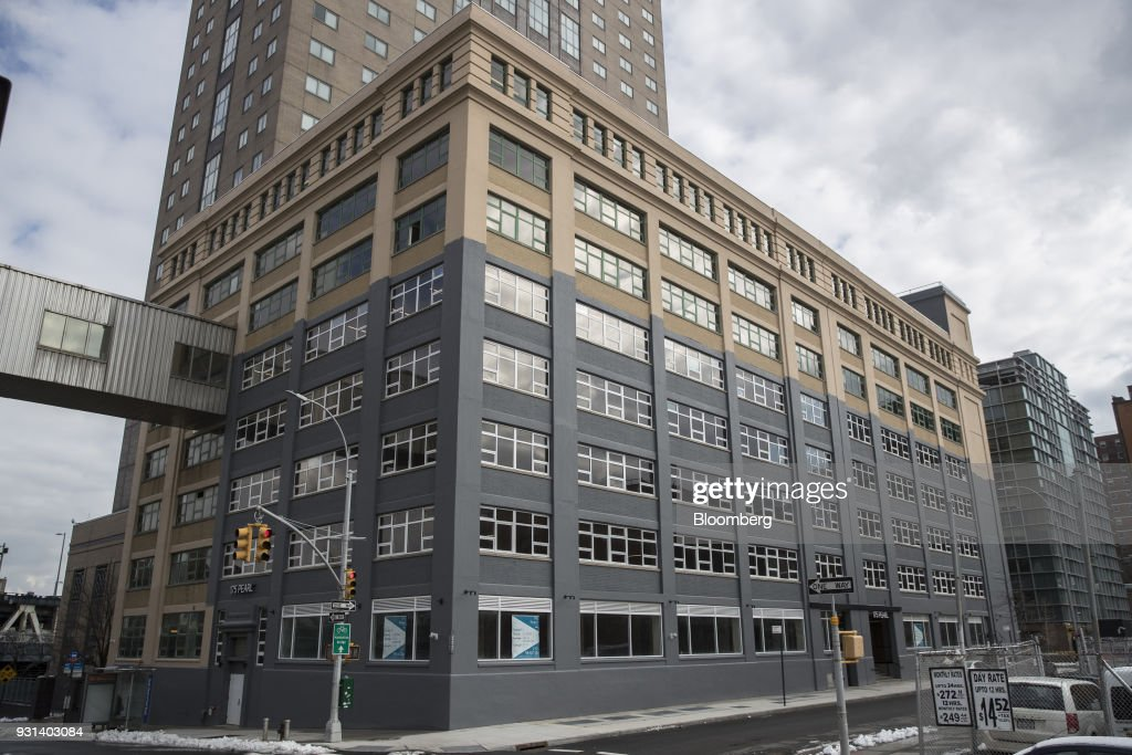 The 175 Pearl building stands in the Dumbo neighborhood of the Brooklyn borough of New York, U.S., on Thursday, March 8, 2018. Two months after Jared Kushner joined the White House as a senior adviser, his family firm sold a stake in a Brooklyn building to a unit of a company whose largest shareholder is the government of Japan. The buyer of record in the $103-million deal for 175 Pearl St. was Normandy Real Estate Partners, a New Jersey-based investment firm. But documents filed in Tokyo show that it was operating on behalf of a subsidiary of Nippon Telegraph & Telephone Corp. Photographer: Victor J. Blue/Bloomberg via Getty Images