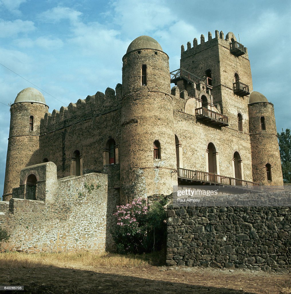 The 17th century castle of the Ethiopian Emperor Fasilides founded