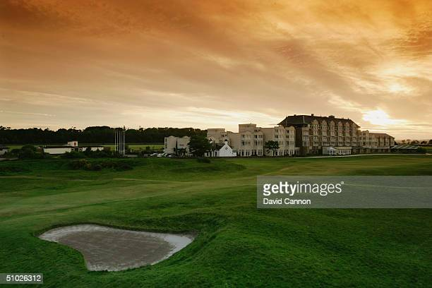 The 17th fairway and the Old Course Hotel on the Old Course at St Andrews on June 4, 2004 in St Andrews, Scotland.