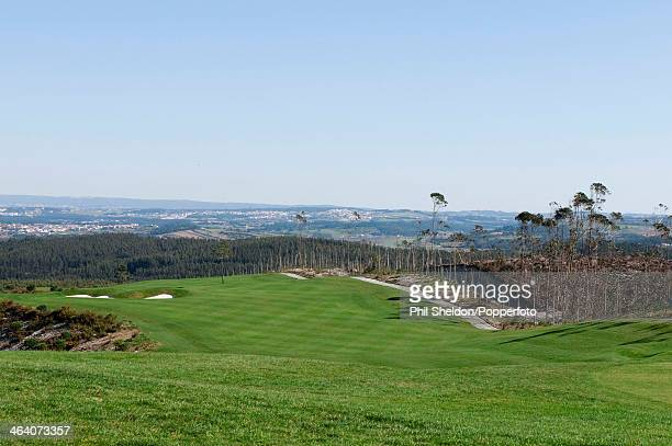 The 17th hole of the Bom Sucesso Golf Resort in Portugal, circa 1990.