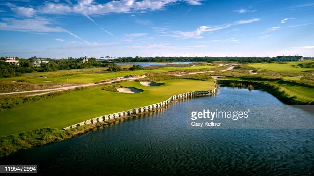 The 17th hole of the Ocean Course at Kiawah Island Golf Resort, the future site of the 103rd PGA Championship, on November 16 in Kiawah Island, South...