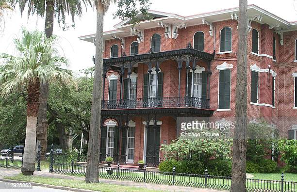 The 1859 Ashton Villa was one of the first brick homes built in Galveston Texas It's on the National Register of Historic Places and open for tours