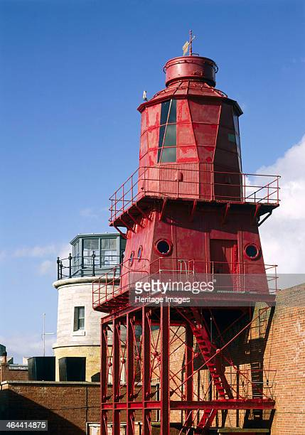 The 1865 and 1911 lighthouses Hurst Castle Hampshire 1994 Hurst Castle was a sophisticated coastal fortress built by Henry VIII to command the...
