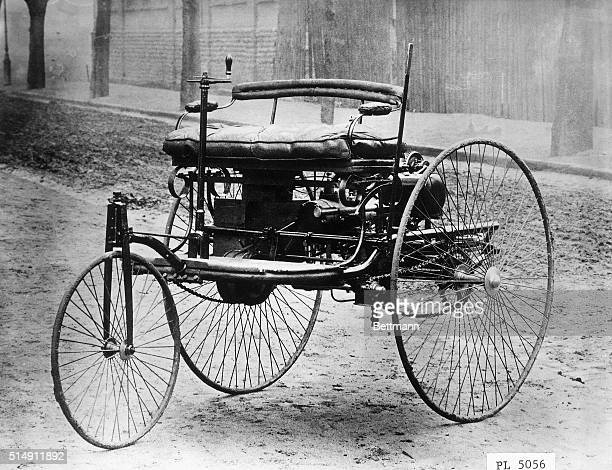 The 1885 Benz Motorwagen was the first motor vehicle ever to be sold to the public Manufactured at the Benz and Company factory in Mannheim Germany...