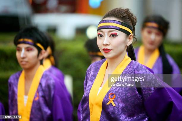 the 18th dream yosakoi festival 2019 - istock images stock pictures, royalty-free photos & images