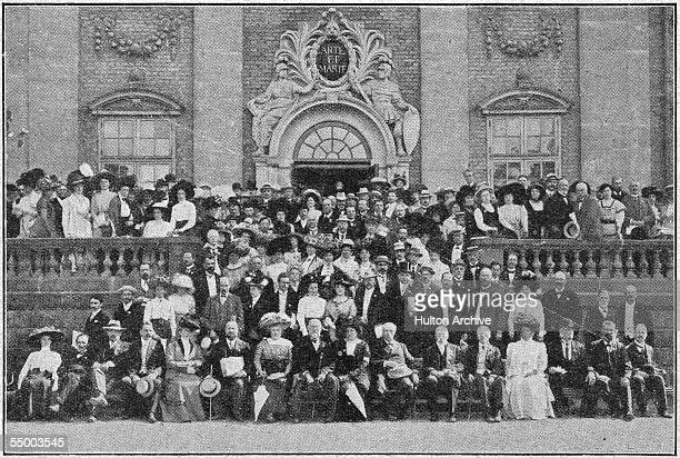 The 18th International Peace Congress in Stockholm, August 1910. Original Publication : Review of Reviews - pub. 1910