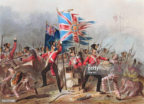 The 18th Regiment of Foot at the storming of the forts of Amoy August 26 1841 The Battle of Amoy was fought between British and Chinese forces in...