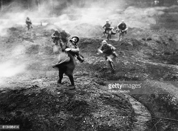 The 1916 Battle of Verdun is recreated for the 1929 film Verdun visions d'histoire directed by Leon Poirier