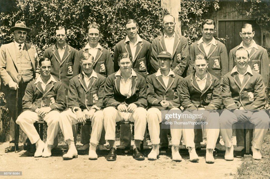 The England Cricket Team in Australia : News Photo