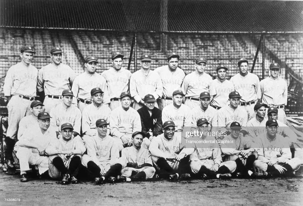 1929 New York Yankees : News Photo