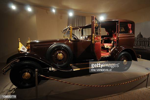 The 1930s Citroen C6 Lictoria of Pius XI complete with a throne in the back seat Pius XI who was Pope when the pacts were signed is the true...