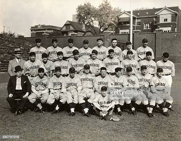 The 1935 Chicago Cubs champions of the National League Top row Johnny Gill Phil Cavarretta Chuck Klein Charley Root Fred Lindstrom Ken O'Deq Roy...