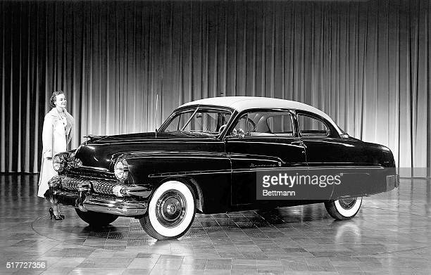 The 1951 Mercury customized sixpassenger coupe the Monterey is the newest version of the popular Mercury model and is now in production in limited...
