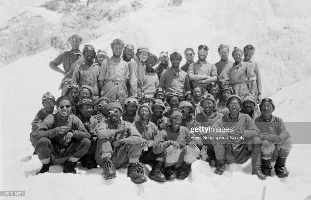 The 1953 Mount Everest team : News Photo