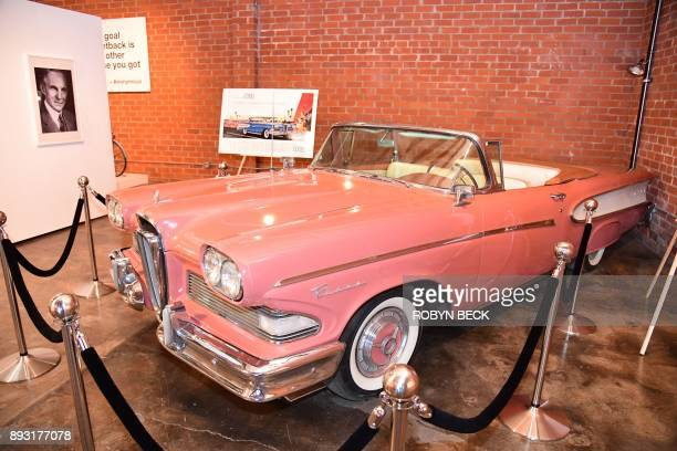 The 1956 Ford Edsel is displayed at The Museum of Failure in Los Angeles on December 7 2017 The Museum of Failure at the AD Architecture and Design...