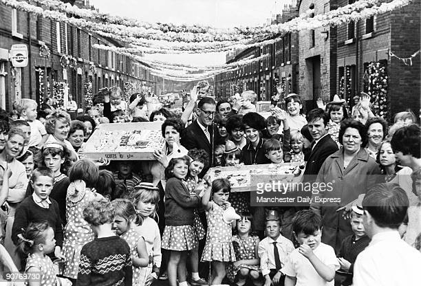 The 1966 World Cup football championship was held in England Here residents of Leta Street near the Goodison Park ground where some of the matches...