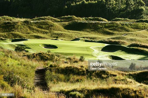 The 197 metre par 3, 2nd hole on the Links Course at Fancourt, on February 25 in George, South Africa.