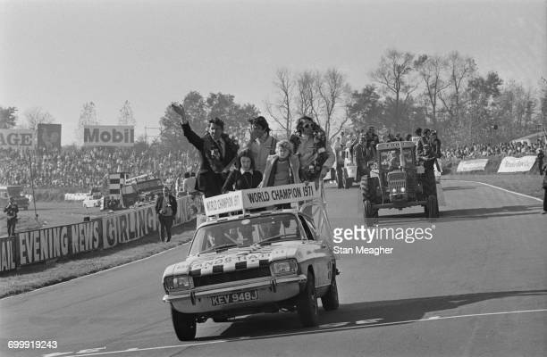 The 1971 World Championship Victory Race at Brands Hatch on the day when Swiss driver Jo Siffert was killed in a crash, UK, 24th October 1971.