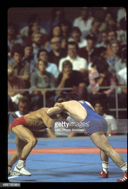 OLYMPICS The 1976 Summer Olympic Games aired on the ABC Television Network from July 17 to August 1 1976 Shoot Date July 30 1976 VLADIMIR YUMIN VS...