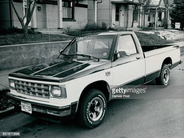 The 1982 Chevrolet S10 Tahoe version of the new light pickup Credit The Denver Post