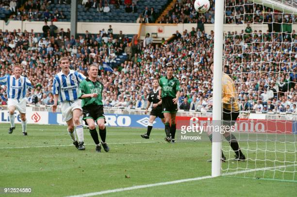 The 1995 Football League Second Division play-off final: Huddersfield Town v Bristol Rovers, final score Huddersfield Town 2 - Bristol Rovers 1....