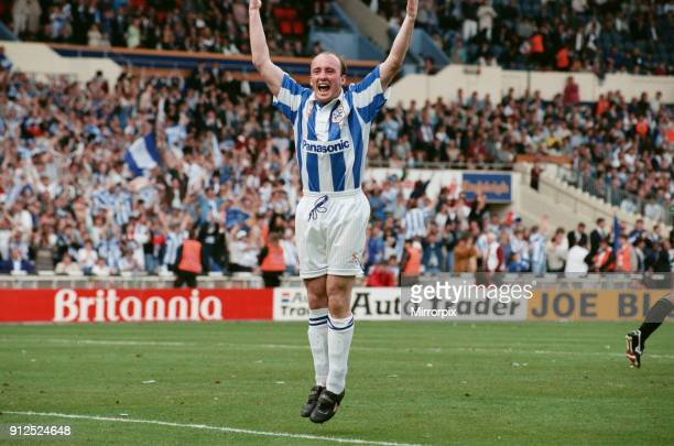 The 1995 Football League Second Division play-off final: Huddersfield Town v Bristol Rovers, final score Huddersfield Town 2 - Bristol Rovers 1. Iain...