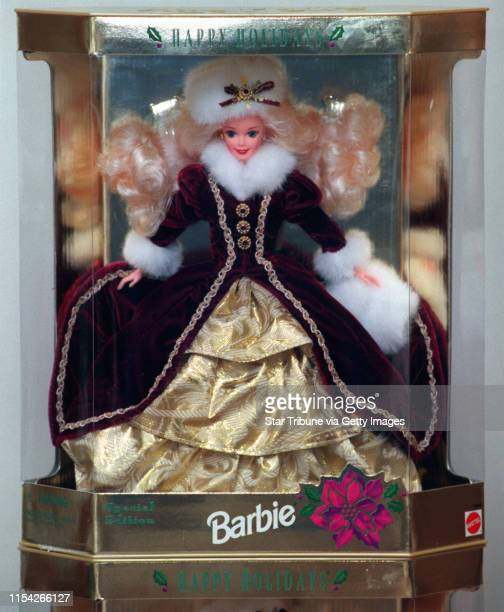 The 1996 Barbie Doll The Happy Holidays Christmas Doll