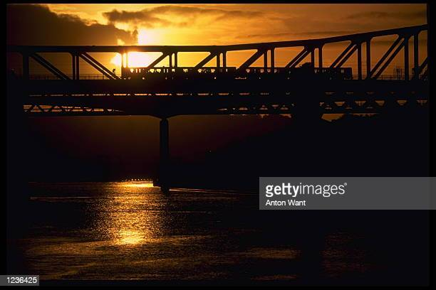 The 1996 European soccer Championships preview feature A train crosses the Tyne in Newcastle at sunset Newcastle chosen as one of the cities to stage...