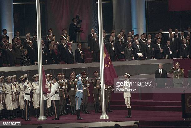The 1997 Hong Kong Handover Ceremony