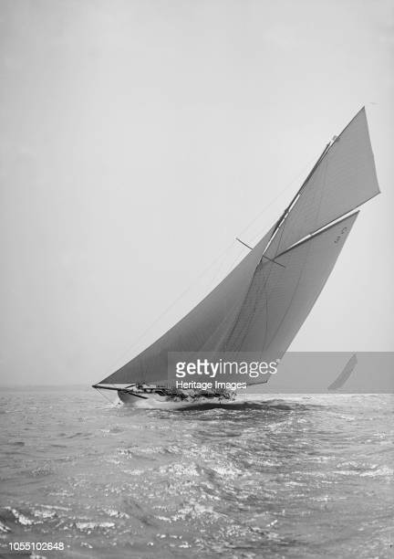 The 19metre class 'Corona' closehauled 1911 'Corona' one of only six 19metre class yachts ever built was designed by William Fife III and launched in...