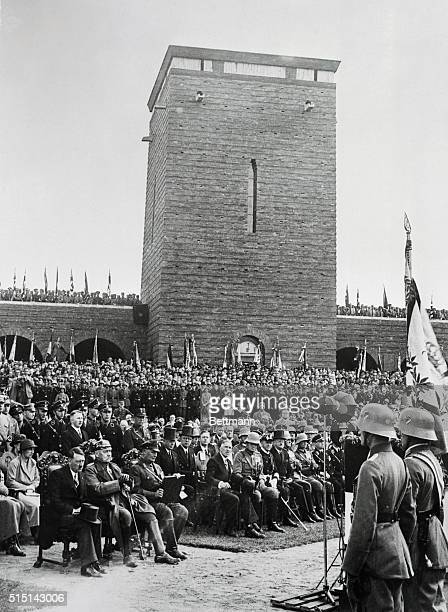 The 19th anniversary of the Battle of Tannenberg gave rise to a great demonstration on the 27th of August at the foot of the huge war memorial...