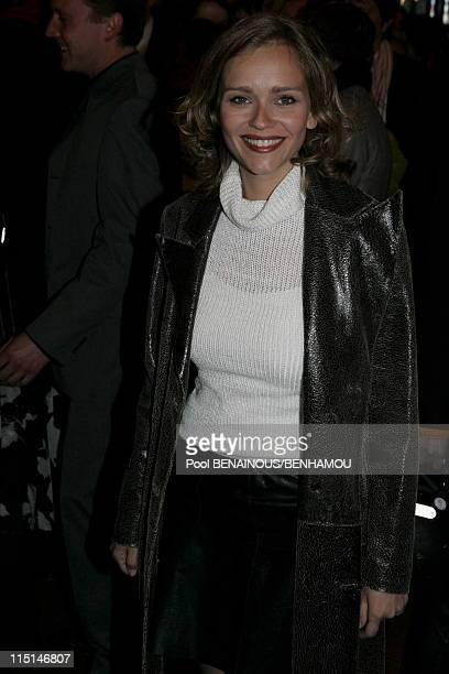 The 19th night of the Molieres at the Mogador Theatre in Paris France on May 09 2005 Claire Borotra