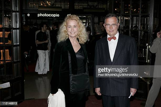 The 19th night of the Molieres at the Mogador Theatre in Paris France on May 09 2005 Brigitte Fossey