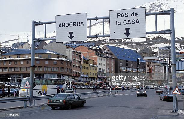 The 1st Constitution In Andorra La Vella Andorra On March 141993