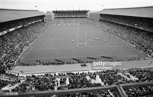 The 1st Rugby Union World Cup Final at Twickenham 2/11/91 England V Australia, Australia won 12-6.