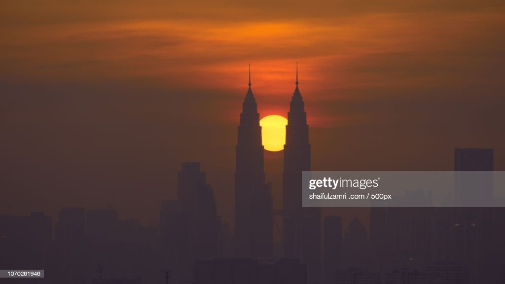 The 2 Towers : Stock Photo