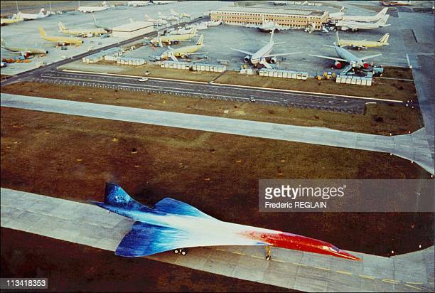 The 20 Years Of Supersonic Concorde Airliner On March 02thIn ParisFrance